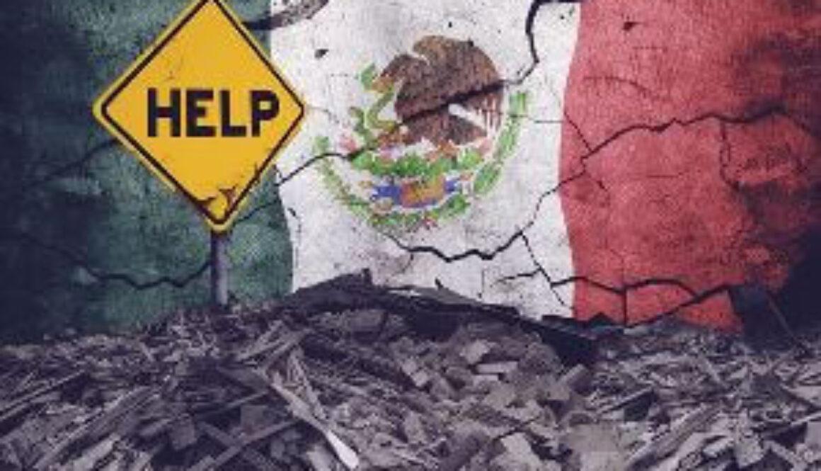 海外で地震