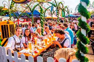 ドイツの夏祭り
